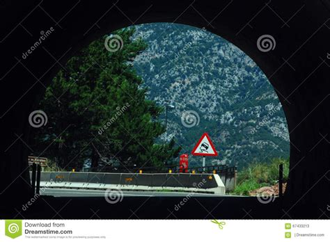 the tunnel through time a new route for an journey books tunnel in the mountains stock photo image 67433213