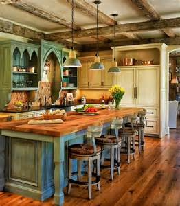 country kitchen islands best 25 rustic country kitchens ideas on