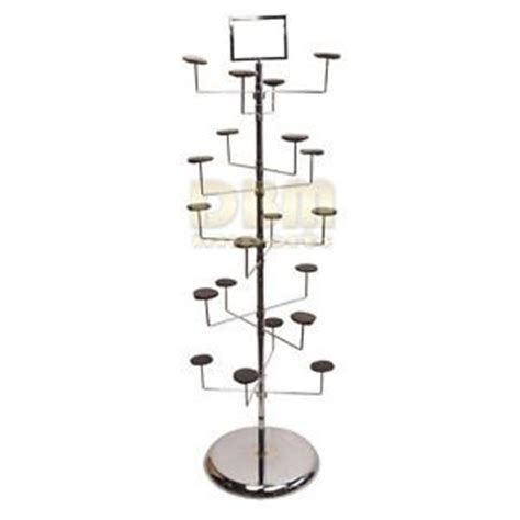 Retail Hat Rack by Revolving 10 Tier 20 Hat Hanger Display Retail Rack Tree Floor Stand Fixture Home