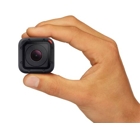 Gopro Hero4 gopro hero4 session goes anywhere thanks to its tiny size technabob