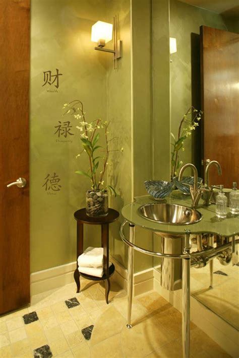 Oriental Bathroom Ideas | asian style bathroom