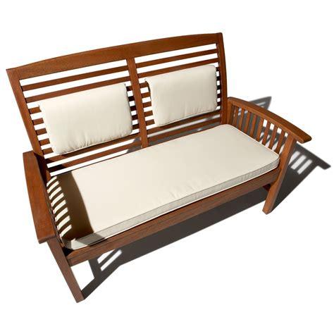 strathwood gibranta all weather hardwood 2 seater bench strathwood garden furniture gibranta all weather hardwood 2 seater bench amazon co uk garden