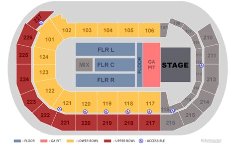 amsoil arena seating map amsoil arena concert www imgkid the image kid has it