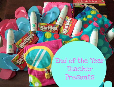 gingerbabymama teacher gifts for a summer of fun