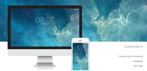 design clothes mac os x how to get ios 7 lock screen style screensaver on mac os x