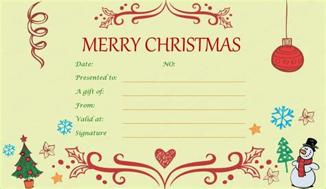 1000 ideas about gift certificate templates on