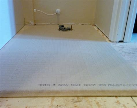 Diying Your New Bathroom Floor Improvementcenter Com