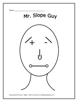 slope guy slope types of linear equations personalize mr ms slope