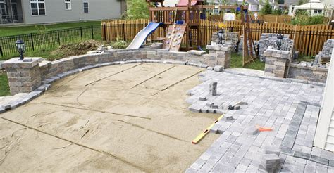 How To Lay A Patio On Concrete by Concrete Pavers And Paver Infromation The Concrete Network