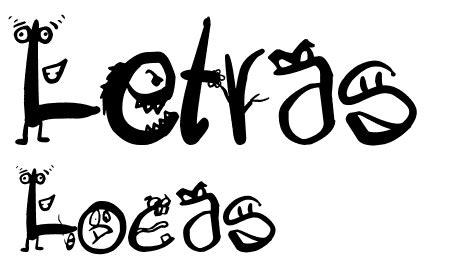 imagenes de letras raras 37 fuentes de dibujos animados