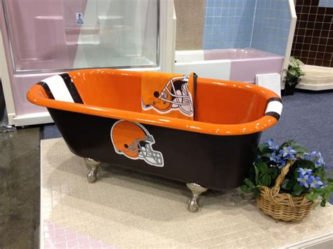 The Tub Of A True Cleveland Browns Fan Great Browns Stuff Pinterest The O Jays