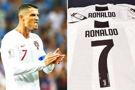 ronaldo juventus sleeve shirt cristiano ronaldo juventus shirts printed and leaked ahead of real madrid switch