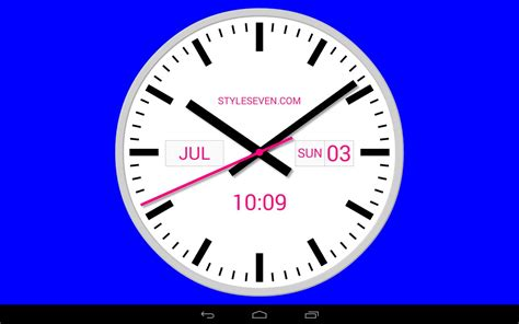 clock apk swiss analog clock 7 apk free tools app for android apkpure