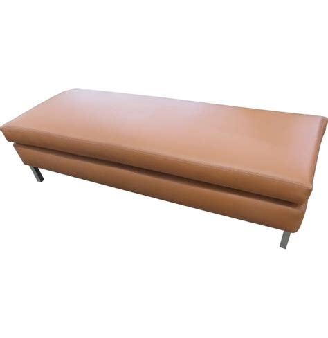 metal bench seat legs leather bench with metal legstest
