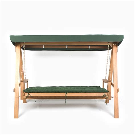 swing ls bedside greenfingers loreto 3 seater swing seat green on sale