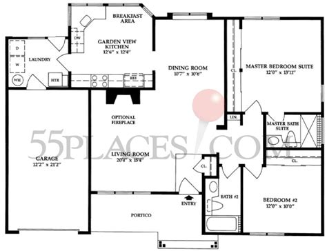 leisure village floor plans roxy floorplan 1403 sq ft leisure village west
