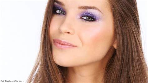 makeup tutorial lisa eldridge colourful glitter party eyes make up tutorial by lisa