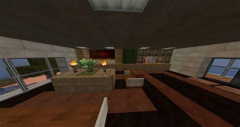 Minecraft Living Room Tv My Modern Mansion Minecraft Project