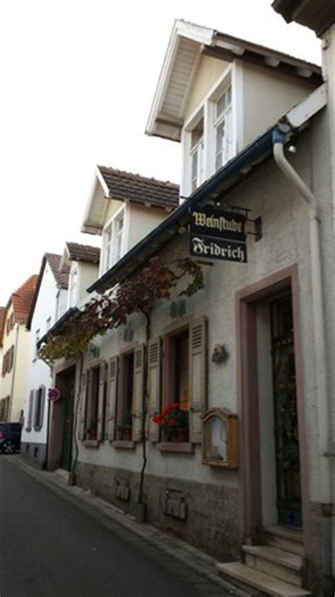 wohnungen in bad dürkheim weinstube fridrich bad d 252 rkheim restaurant bewertungen