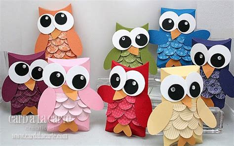 How To Make Owls Out Of Toilet Paper Rolls - for paper owls though i would choose