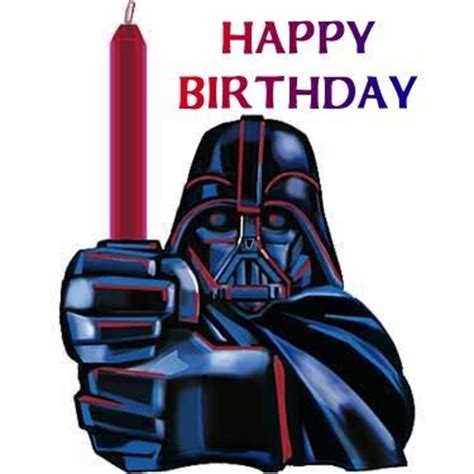Star Wars Happy Birthday Meme - my life as a geek happy birthday bro