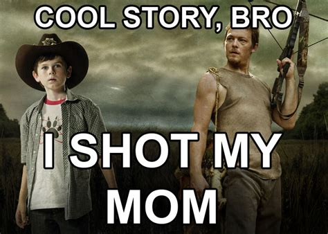 Walking Dead Carl Meme - 40 of the best walking dead memes from season 3 from