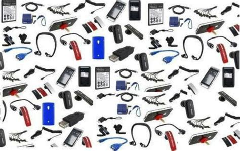 mobile accessories nine held for selling duplicate mobile spare parts