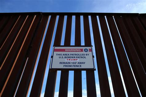 borders fences and walls state of insecurity border regions series books mexico border wall construction contract bids open march 6