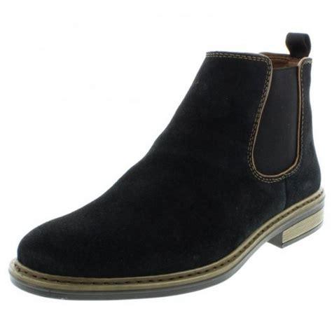 37682 14 navy suede chelsea boot