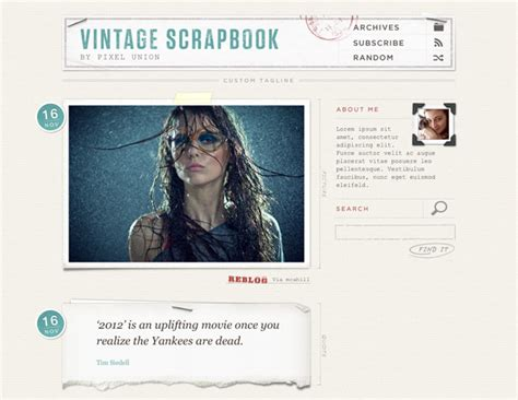 tumblr themes free classic 70 awesome tumblr themes webdesigner depot