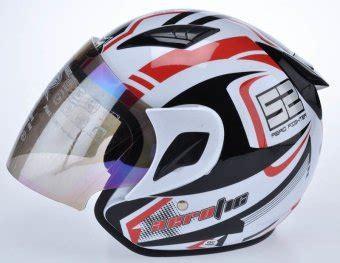 Msr Helmet Javelin Putih L msr helmet javelin aerotic putih merah lazada indonesia