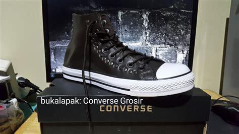 Sepatu Converse Kulit Hitam jual sepatu converse varvatos kulit di lapak converse grosir grosirconverse