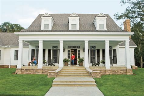 southern house plans one story southern living house plans