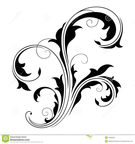 design element swirls 2 stock vector illustration of
