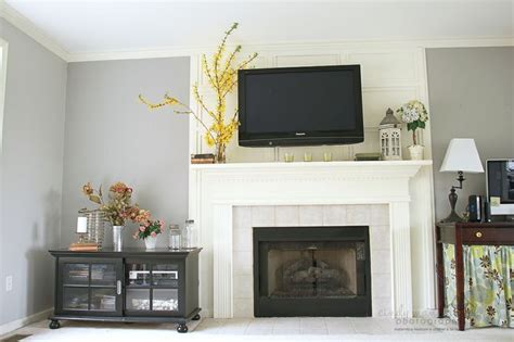 another exle of hiding tv cords trim the