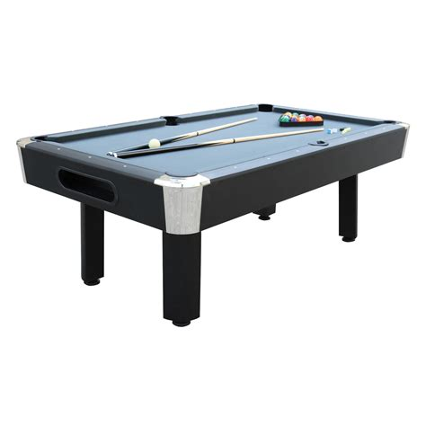 7 pool table sportcraft 7 gray billiard table with table tennis top