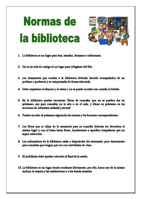 libro las normas de la normas de la biblioteca biblioteca del cpeb colombres
