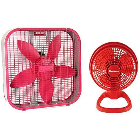 house fans at walmart sunbeam box fan and table fan bundle house