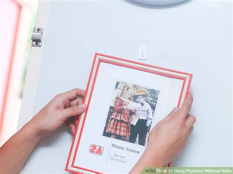 how to hang pictures without nails 5 ways to hang pictures without nails wikihow
