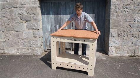 portable folding workbench versatable woodworkers