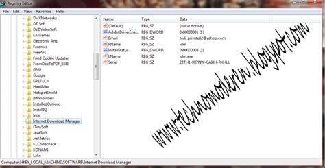 idm full version regedit cara mengatasi idm fake serial number dengan mudah lagak