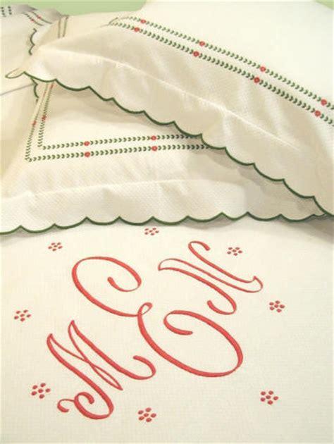 Beglance Cotton Allegra Bed Sheet allegra embroidered monogram luxury linens couture