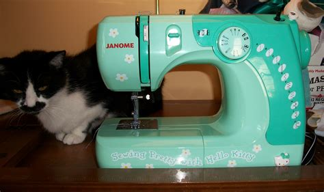Hello Kitty Sewing Machine by Janome: Tool Review   Sew