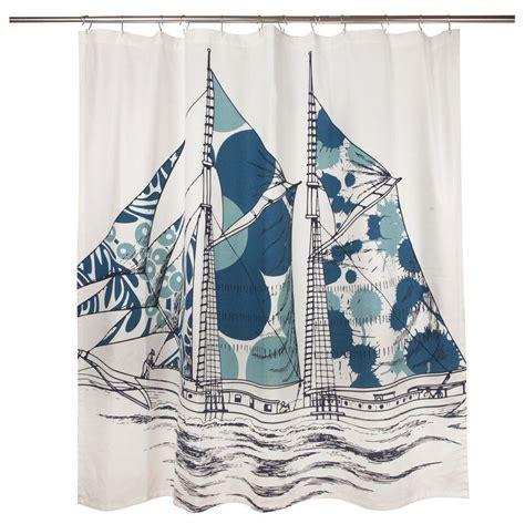 thomas paul shower curtain dazzle ship shower curtain design by thomas paul burke decor