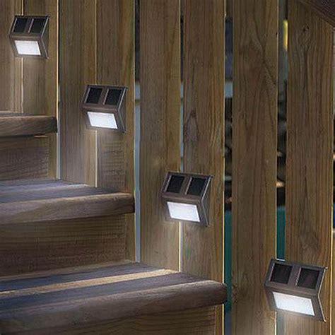 Deck Solor Lights Solar Deck Lighting Ideas