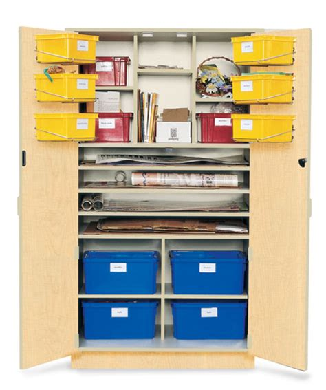 Poster Cabinet by Poster Teaching Storage Cabinet Wenger Corporation