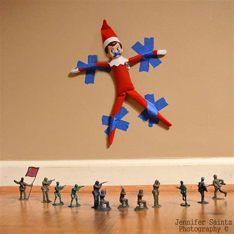 Elves On A Shelf Ideas by On The Shelf Ideas