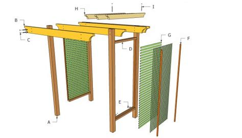 free trellis plans free arbor plans designs free download pdf woodworking