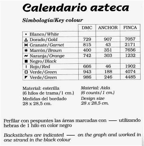 Calendario Azteca Meses Graficos Punto De Gratis Mandala Y Calendario Azteca 4