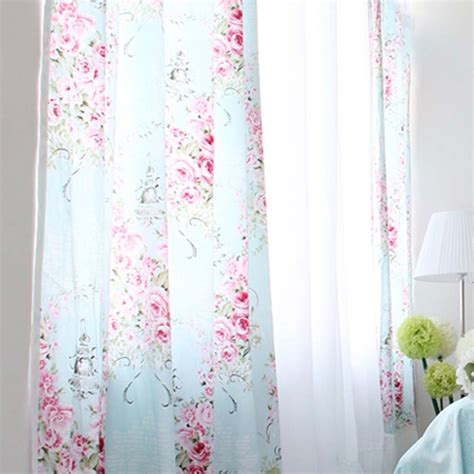 rose drapes rose curtain